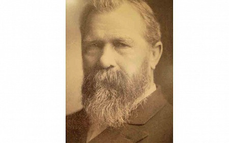 This is a picture of Rev. August Kleinhans